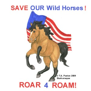 ROAR for the passage of the ROAM act to save American wild horse and burros